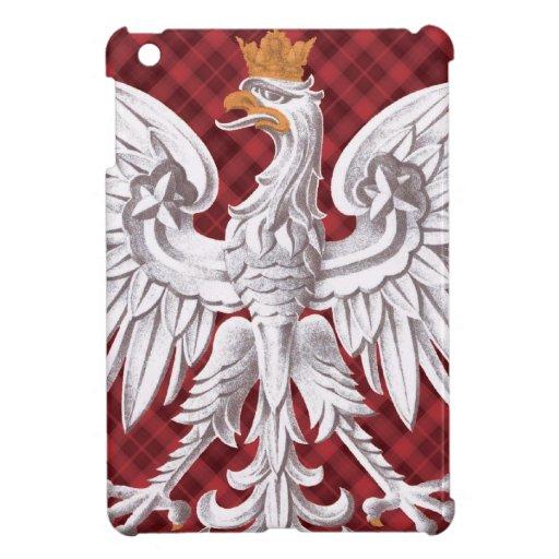 Polish Eagle Plaid iPad Mini Case