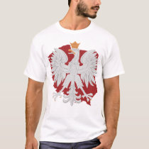 Polish Eagle Poland Design T-Shirt