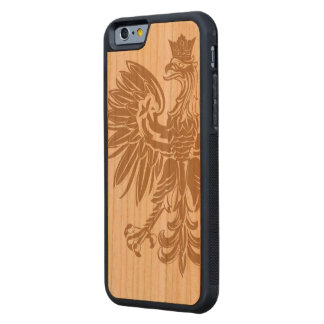 Polish Eagle Poland Flag Carved® Cherry iPhone 6 Bumper