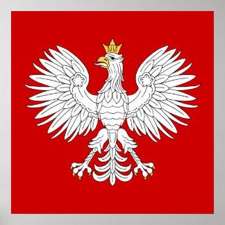 Polish Eagle Poster