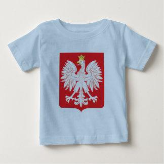 Polish Eagle Red Shield Baby T-Shirt