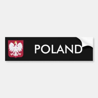 Polish Eagle Red Shield Bumper Sticker