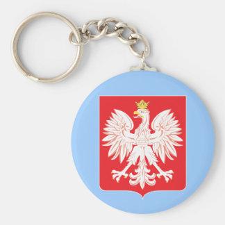 Polish Eagle Red Shield Key Ring Key Chain