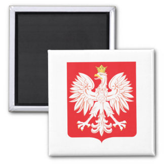 Polish Eagle Red Shield Magnet