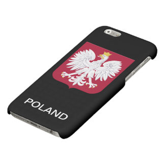 Polish Eagle Red Shield Matte iPhone 6 Case