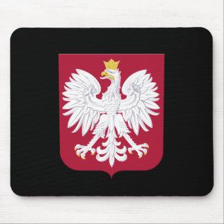 Polish Eagle Red Shield Mouse Pad