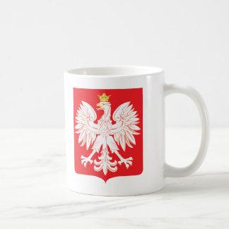 Polish Eagle Red Shield Coffee Mugs
