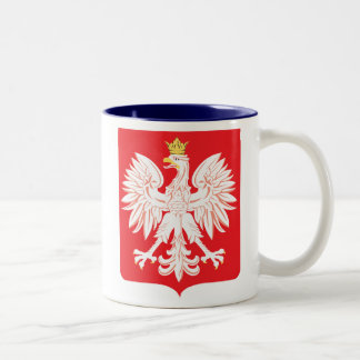Polish Eagle Red Shield Mug