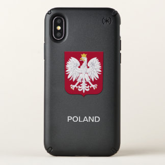 Polish Eagle Red Shield Speck iPhone X Case