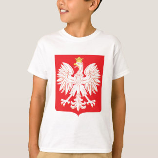 Polish Eagle Red Shield T-Shirt