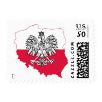 Polish Eagle Stamps