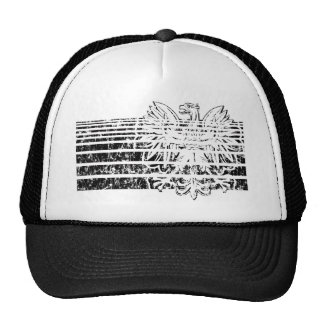 Polish Eagle Stripes Trucker Hat