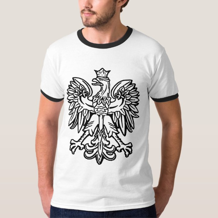 Polish eagle t shirt zazzle for Polish t shirts online