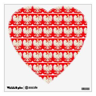 POLISH EAGLE WALL DECAL
