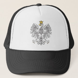 Polish Eagle With Gold Crown Trucker Hat