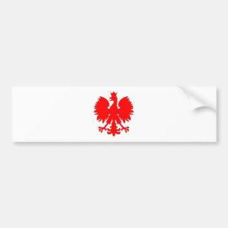 Polish Falcon (Eagle) Bumper Sticker