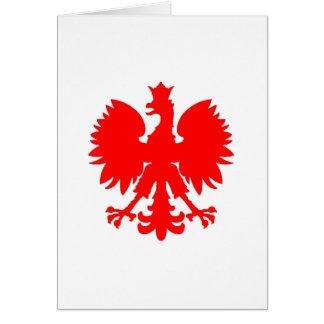 Polish Falcon (Eagle) Greeting Card