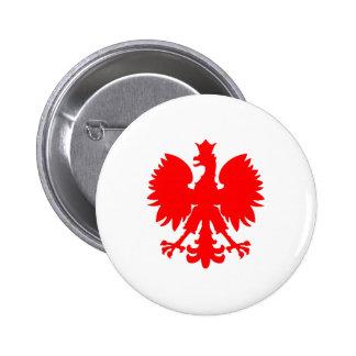 Polish Falcon (Eagle) Pinback Button