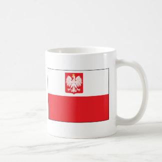 Polish Falcon Flag Coffee Mug
