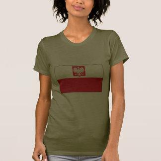 Polish Falcon Flag Ladies T-Shirt