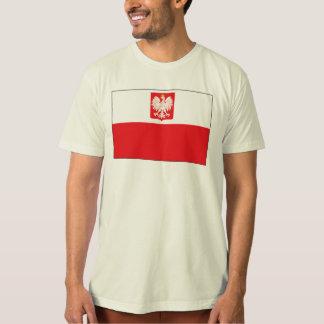 Polish Falcon Flag Mens T-shirt