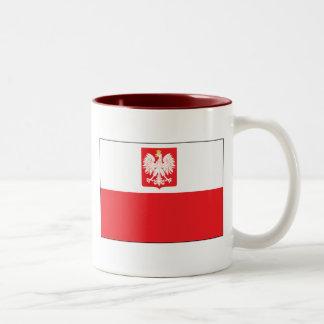Polish Falcon Flag Mug