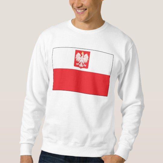 Polish Falcon Flag Sweatshirt