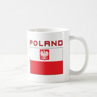 Polish Falcon Flag With Poland Classic White Coffee Mug