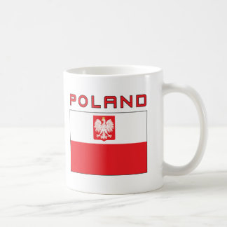 Polish Falcon Flag With Poland Coffee Mug