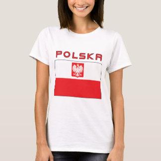 Polish Falcon Flag With Polska T-Shirt