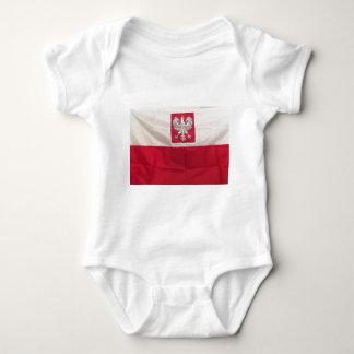 POLISH FLAG AND EAGLE BABY BODYSUIT