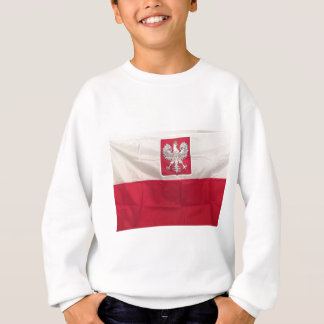 POLISH FLAG AND EAGLE SWEATSHIRT