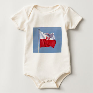 POLISH FLAG BABY BODYSUIT