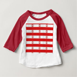 POLISH FLAG BABY T-Shirt