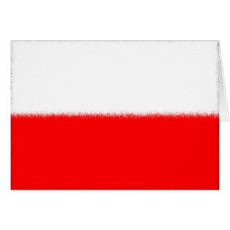 Polish Flag Card