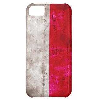Polish Flag Case For iPhone 5C