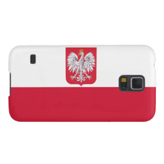 Polish Flag Coat of Arms Case For Galaxy S5