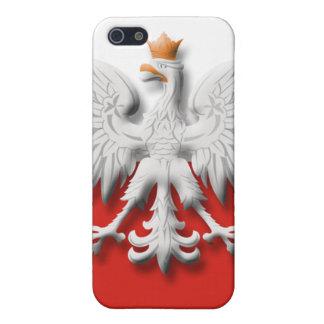 Polish Flag Eagle  iPhone 5 Cases
