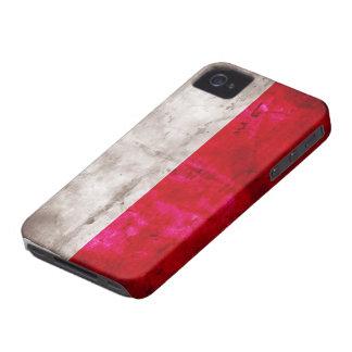 Polish Flag iPhone 4 Case-Mate Case