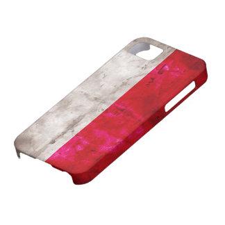 Polish Flag iPhone SE/5/5s Case