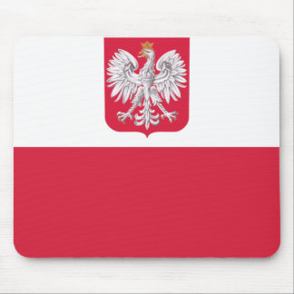 Polish Flag Mouse Pad