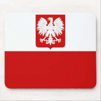 Polish Flag Mousepad