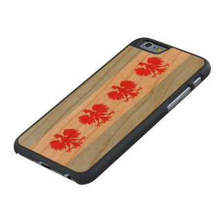 Polish Flag of Chicago Carved® Cherry iPhone 6 Slim Case