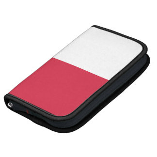 Polish Flag Rickshaw Folio Smartphone Organizers