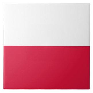 Polish Flag Tile