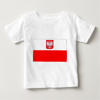 Polish Flag With Eagle Baby T-Shirt