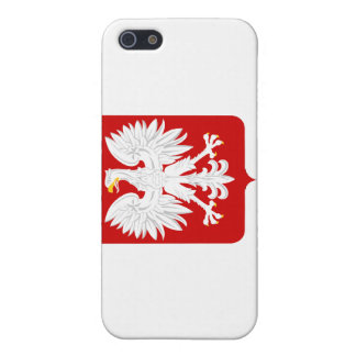 Polish Flag with Eagle Crest  Cover For iPhone SE/5/5s