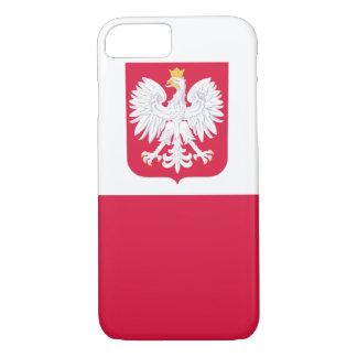 POLISH FLAGE IPHONE CASE