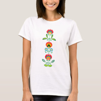 Polish Floral Embroidery, T-shirt