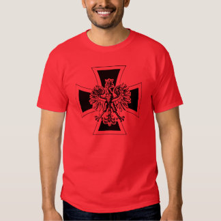 Polish German Cross T Shirt